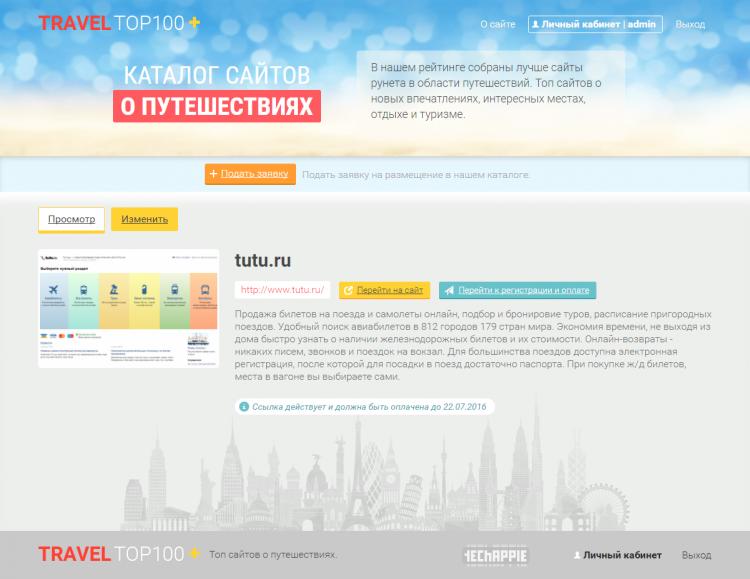 Haaf.ru — каталог лучших сайтов о путешествиях
